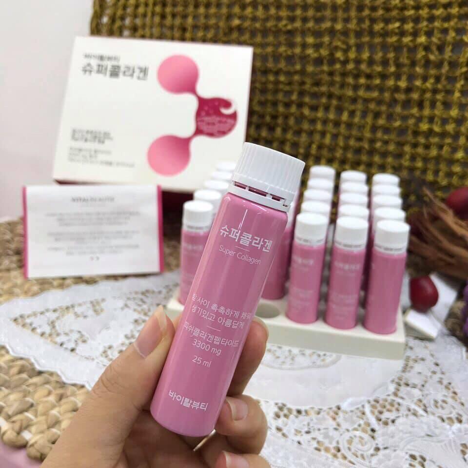 Nước Uống Collagen Vital Beautie Program Super Collagen 3300mg  (25ml*30 ống)