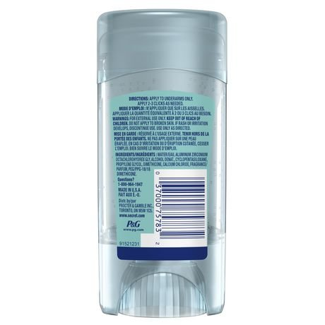 Secret Fresh Antiperspirant Deodorant Clear Gel Boho Berry 73g