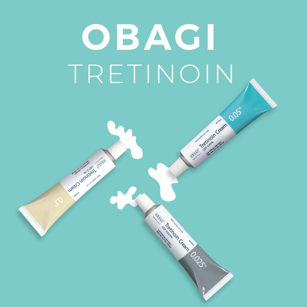 Kem điều trị mụn, nám lão hoá da Obagi Tretinoin Cream 0.05%, 20g