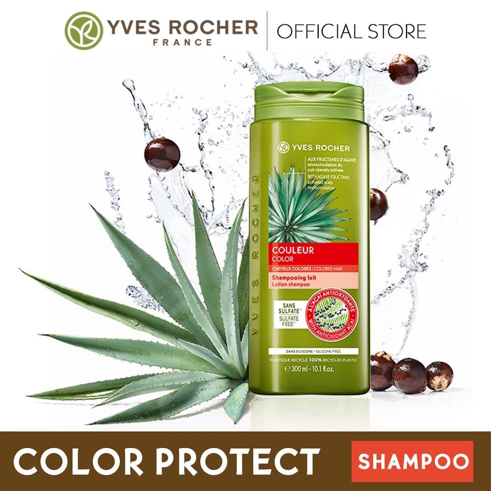 Dầu Gội Dành Cho Tóc Nhuộm Yves Rocher Color Lotion Shampoo 300ml