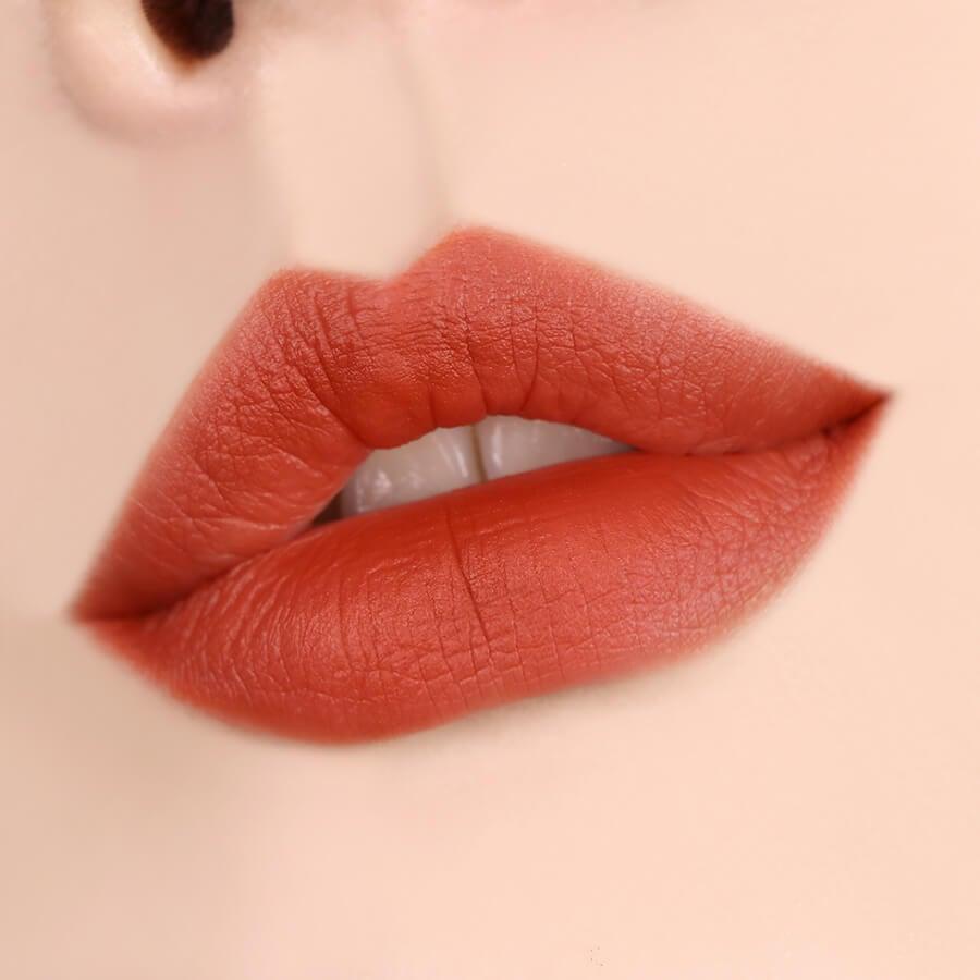 Son Kem Lì Black Rouge Air Fit Velvet Tint A23 Vintage Sunset - Cam nude pha nâu cổ điển