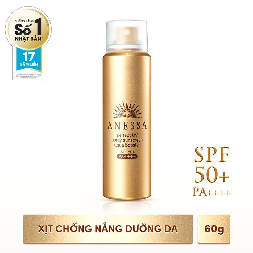 Xịt Chống Nắng Dưỡng Da Anessa Perfect UV Spray SPF50+/PA++++ 60g