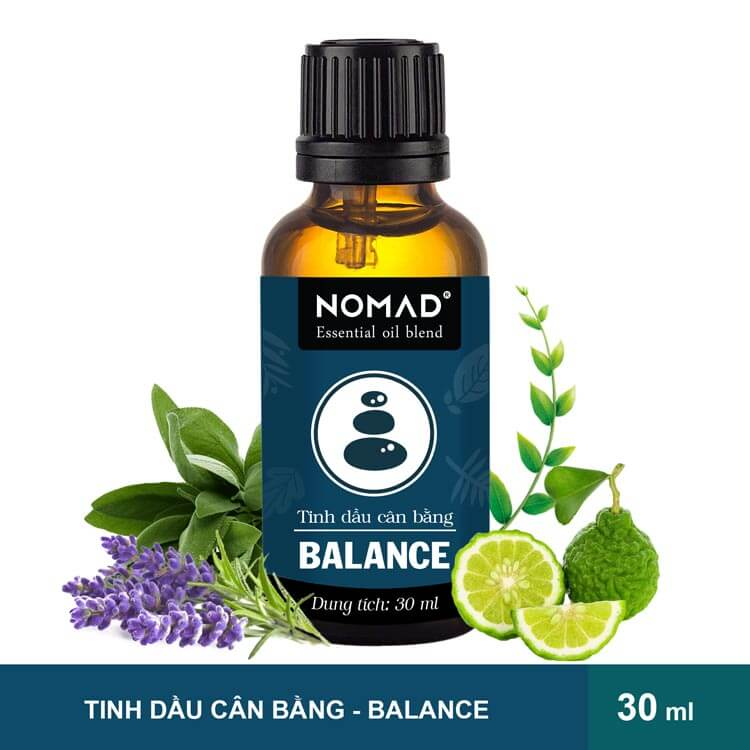 Tinh Dầu Cân Bằng Nomad Essential Oil Blend - Balance