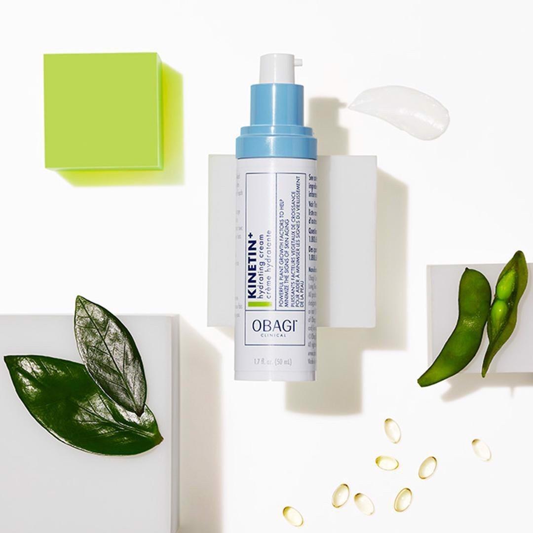 Kem dưỡng phục hồi làm dịu da OBAGI CLINICAL Kinetin+ Hydrating Cream 50ml