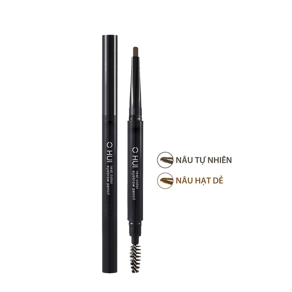 Chì mày Ohui Real Color Eyebrow Pencil 0.25g