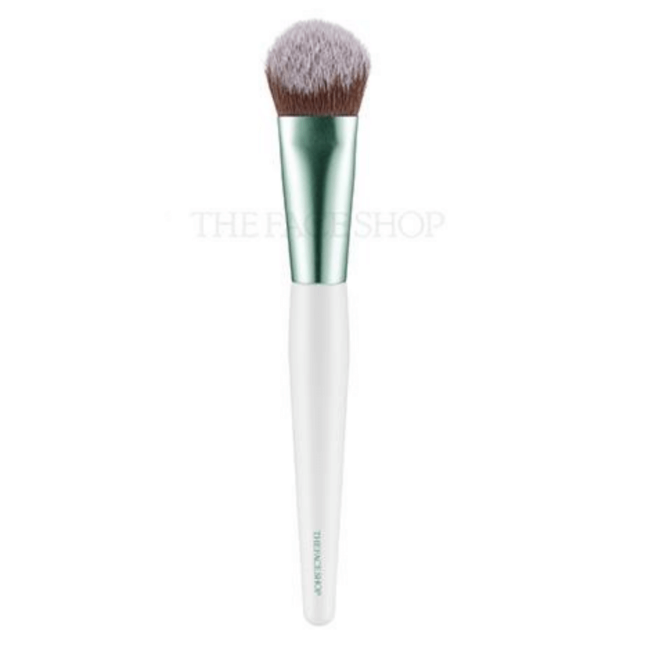 co-danh-kem-nen-thefaceshop-ink-lasting-foundation-brush
