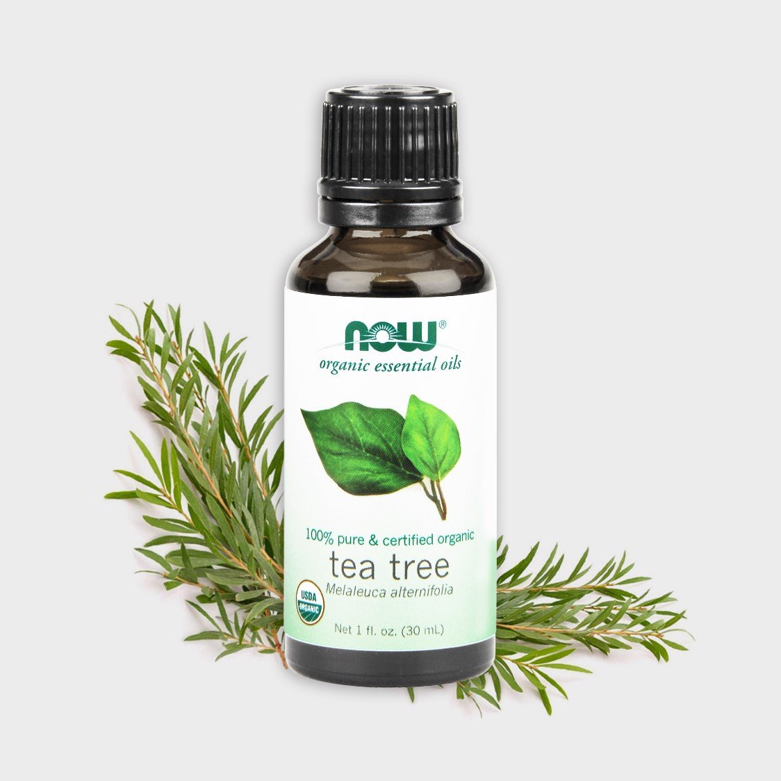 Now Organic Essential Oils Tea Tree 30ml