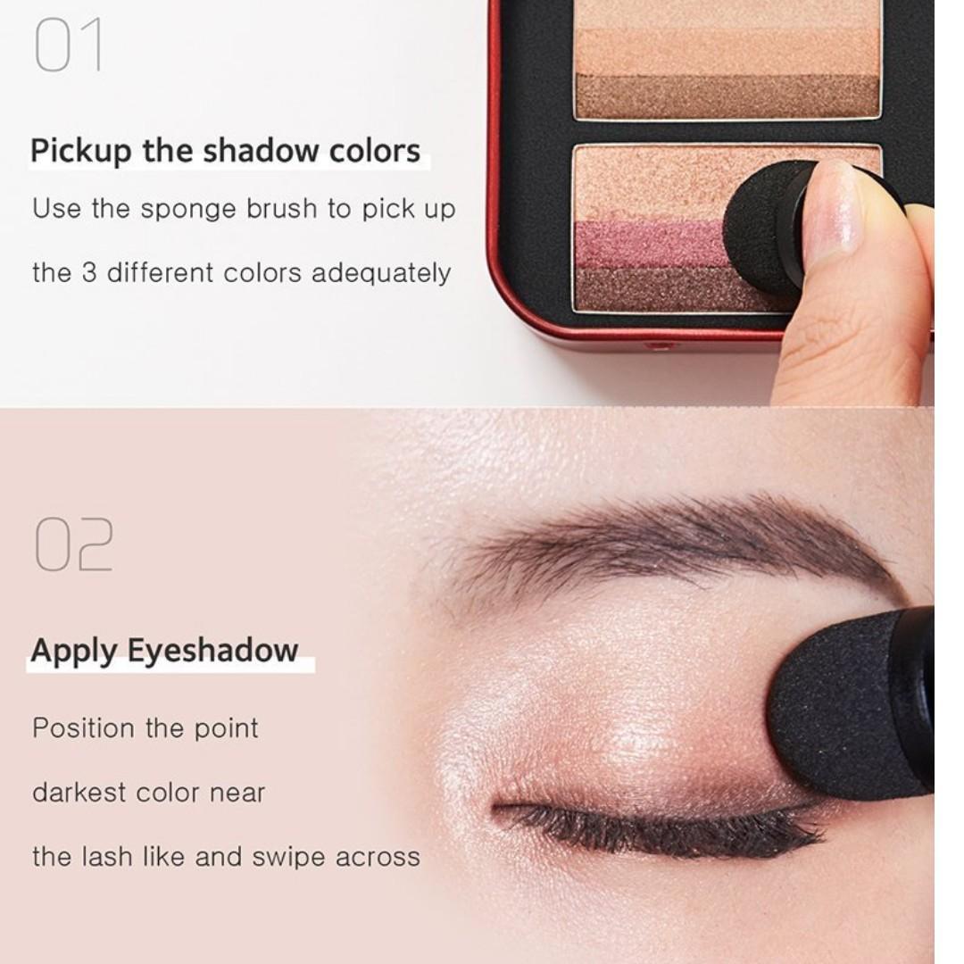 Bảng Phấn Mắt April Skin Perfect Magic Dual Eyeshadow Pure & Chic 6g