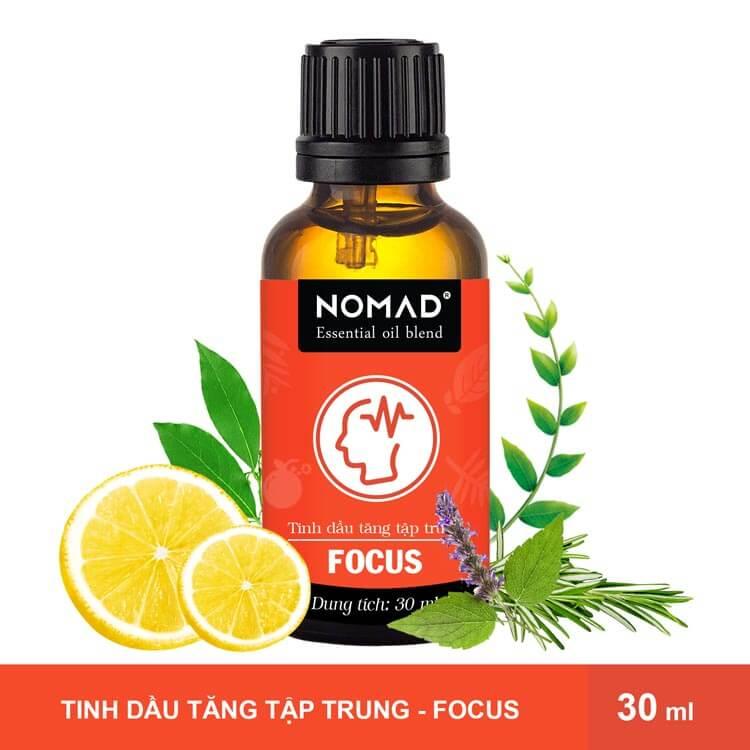 Tinh Dầu Tăng Tập Trung Nomad Essential Oil Blend - Focus
