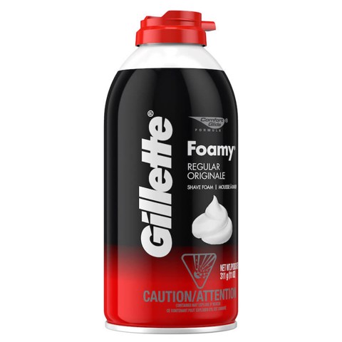 Gillette Foamy Regular Original Shave Foam 311g
