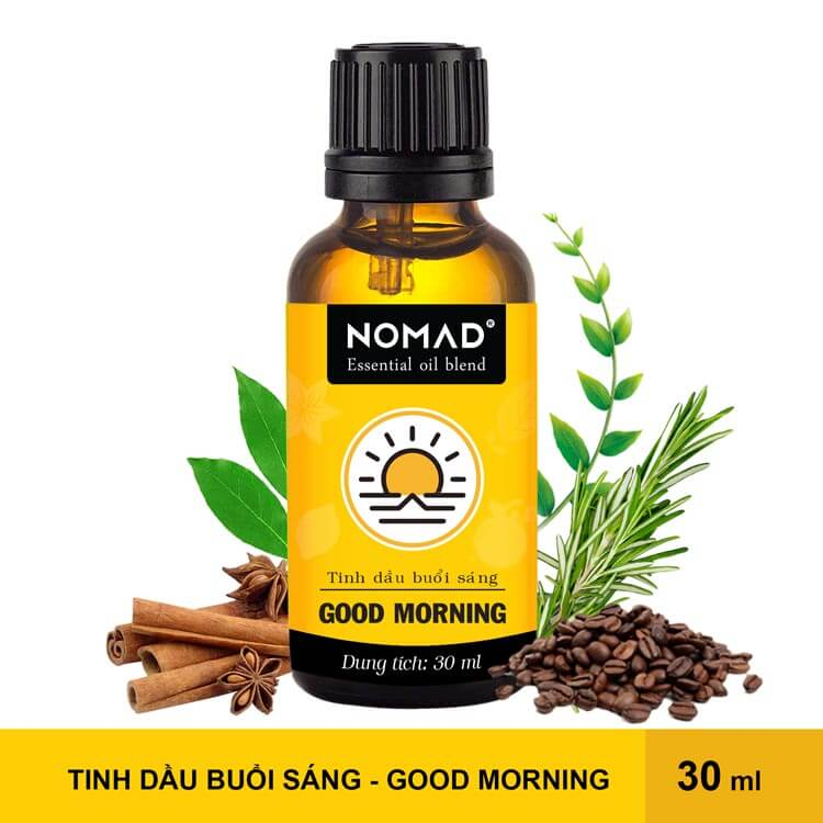 Tinh Dầu Buổi Sáng Nomad Essential Oil Blend - Good Morning