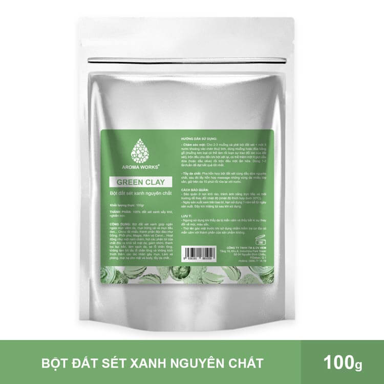 bot-dat-set-xanh-nguyen-chat-aroma-works-green-clay-powder