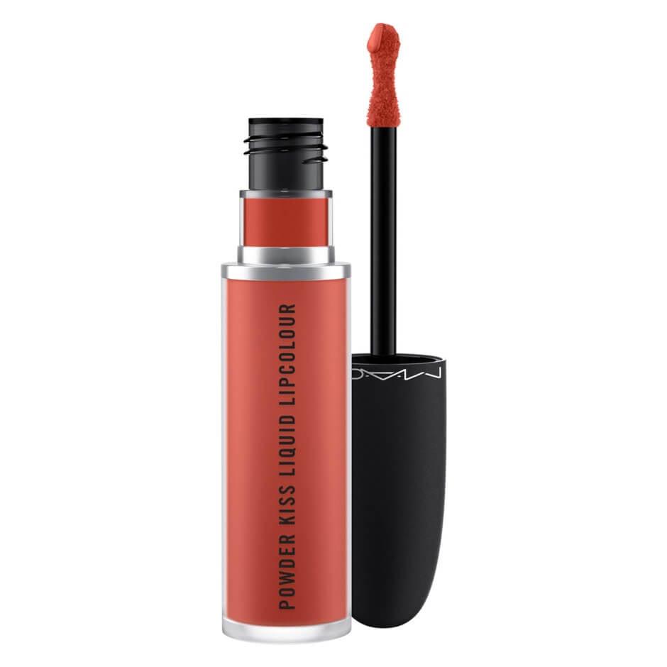 Son Kem Mac Powder Kiss Liquid Lipcolour 998 Sorry Not Sorry - Cam Cháy