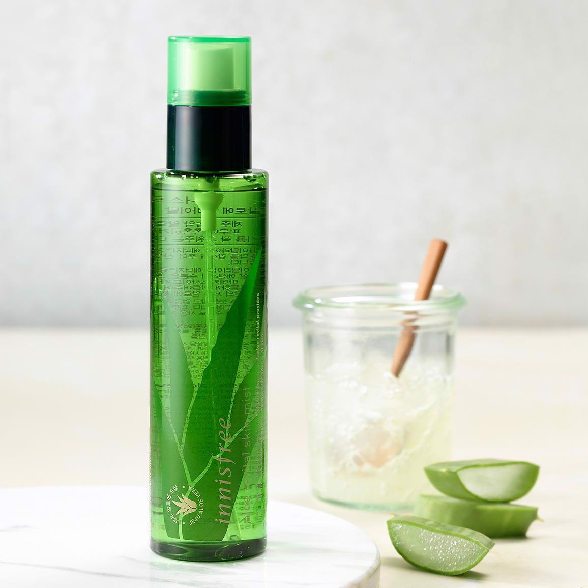Xịt Khoáng Dưỡng Ẩm Innisfree Aloe Revital Skin Mist 120ml