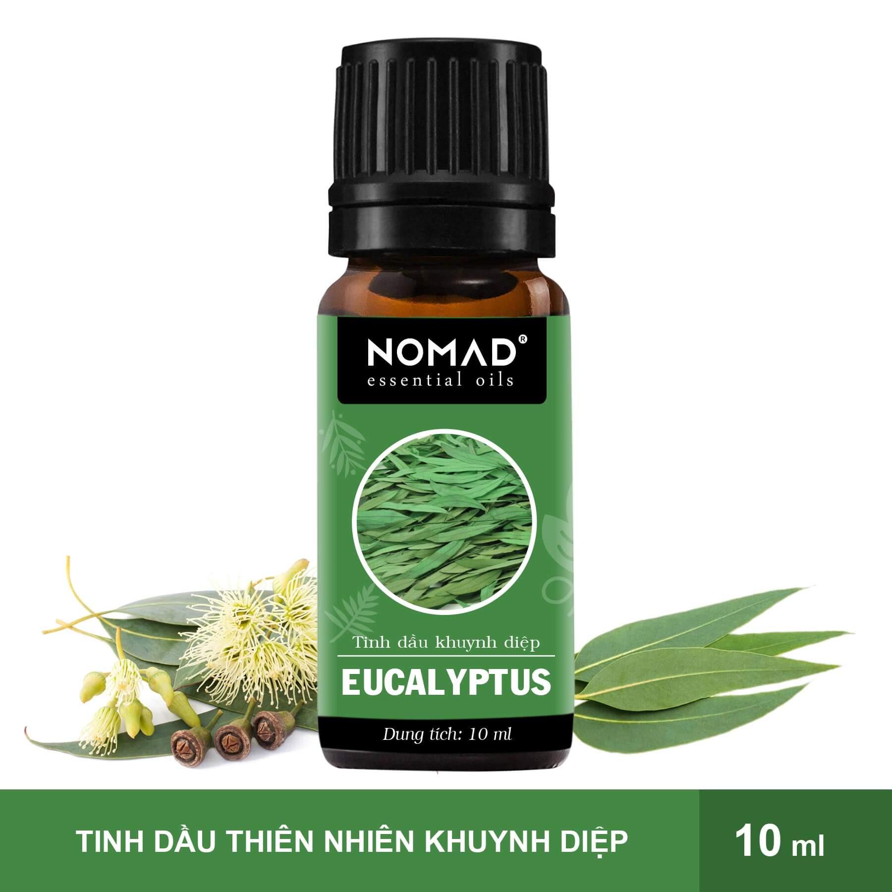 Tinh Dầu Thiên Nhiên Khuynh Diệp Nomad Essential Oils Eucalyptus