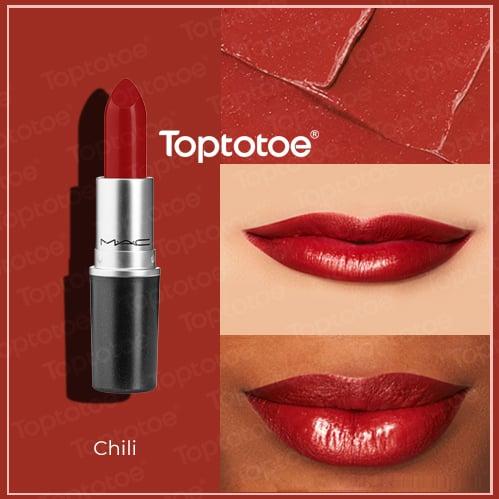 Son Thỏi MAC Matte Lipstick Chili 3g
