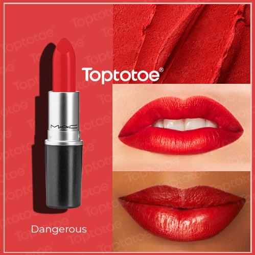 Son Thỏi MAC Matte Lipstick Dangerous 3g