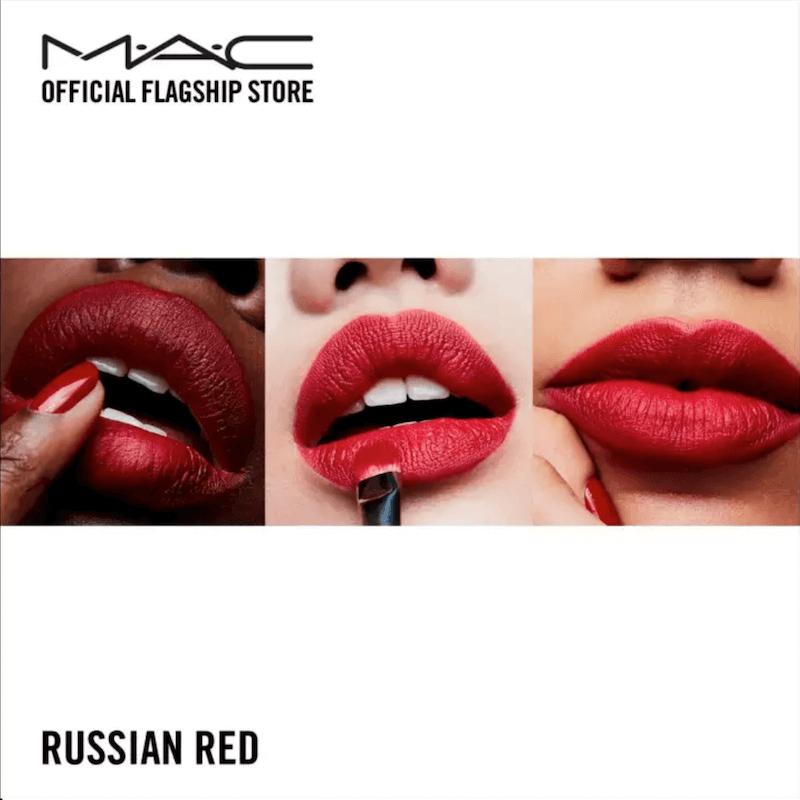 Son Thỏi MAC Matte Lipstick Russian Red 3g