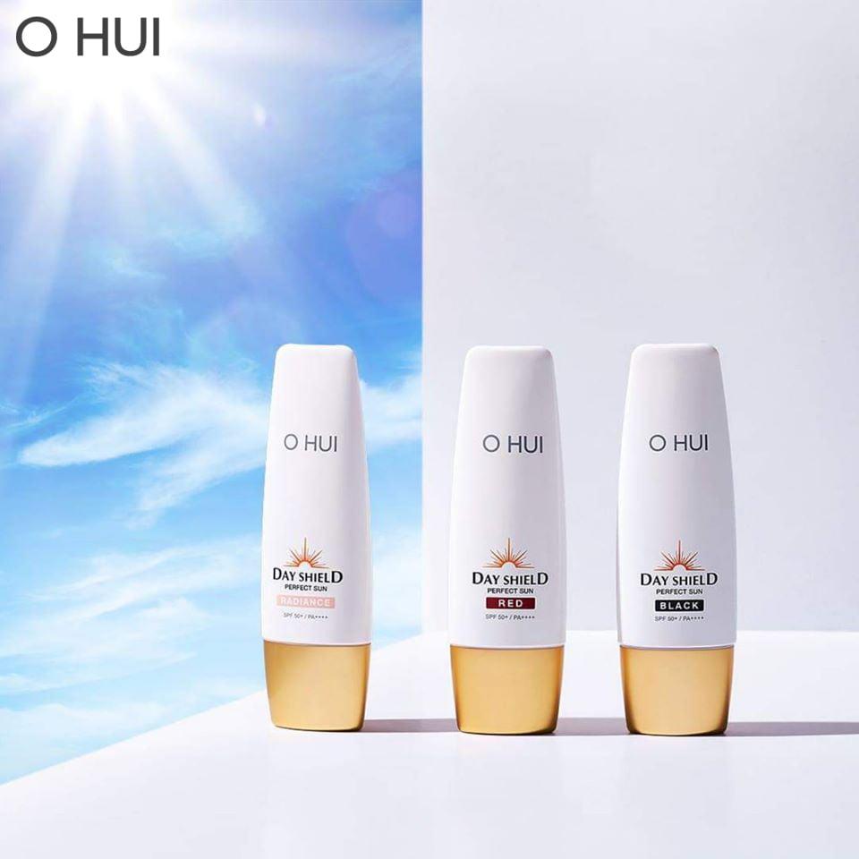 Kem Chống Nắng Ohui Day Shield Perfect Sun Black Spf 50+ / PA++++ 50ml