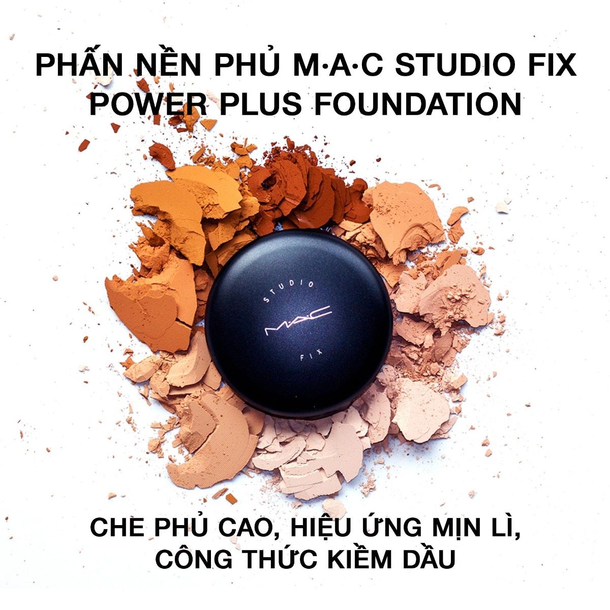 Phấn Nền + Phủ MAC Studio Fix Powder Plus Foundation 15g
