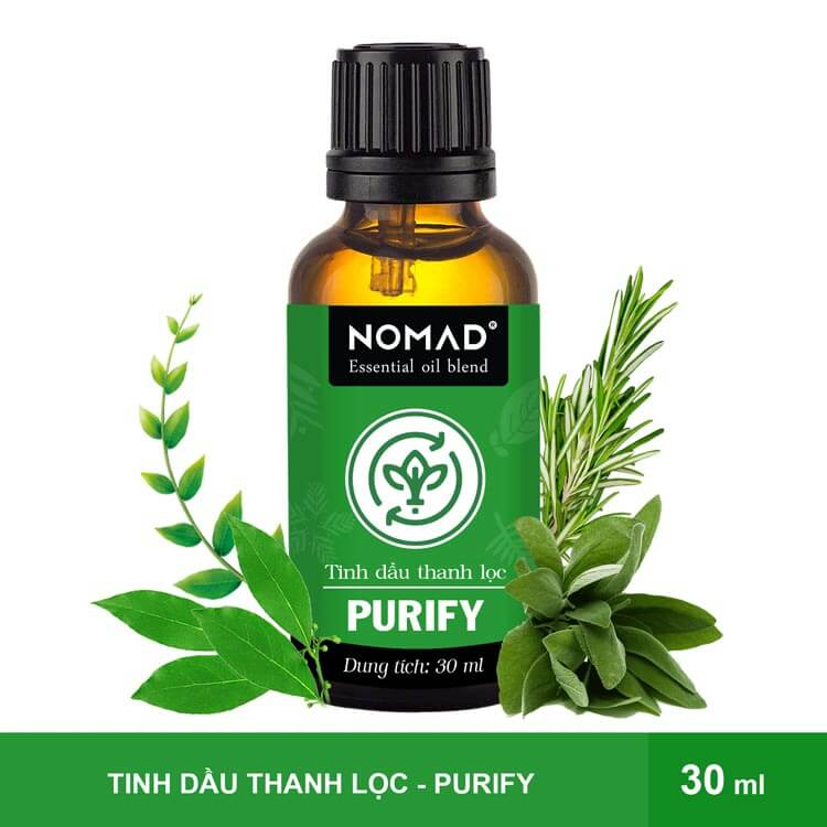 Tinh Dầu Thanh Lọc Nomad Essential Oil Blend - Purify
