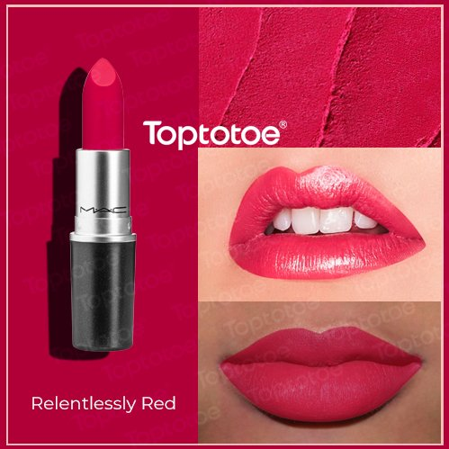 Son Thỏi MAC Matte Lipstick Relentlessly Red 3g