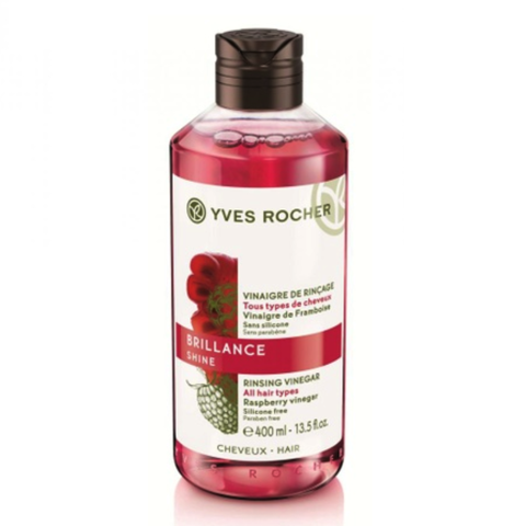 Giấm Xả Tóc Yves Rocher Shine Rinsing Raspberry Vinegar 400ml