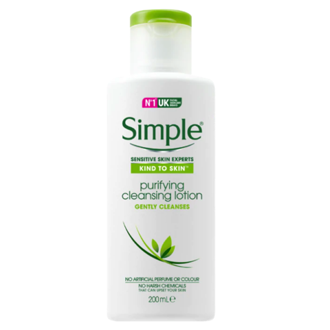 Sữa Tẩy Trang Simple Kind To Skin Purifying Cleansing Lotion 200ml
