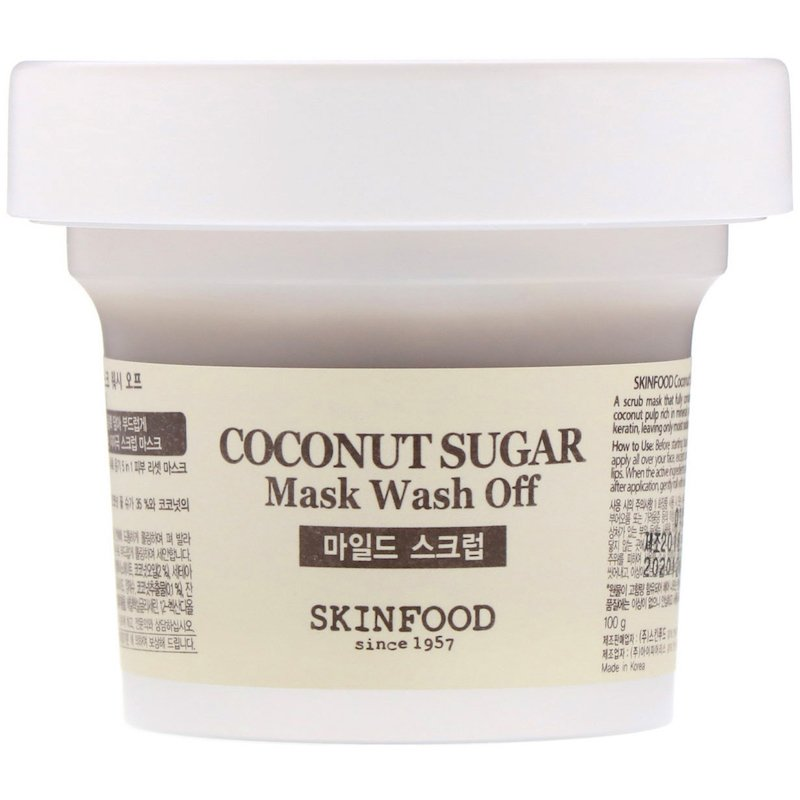 Mặt Nạ Rửa Skinfood Coconut Sugar Mask Wash off 100g