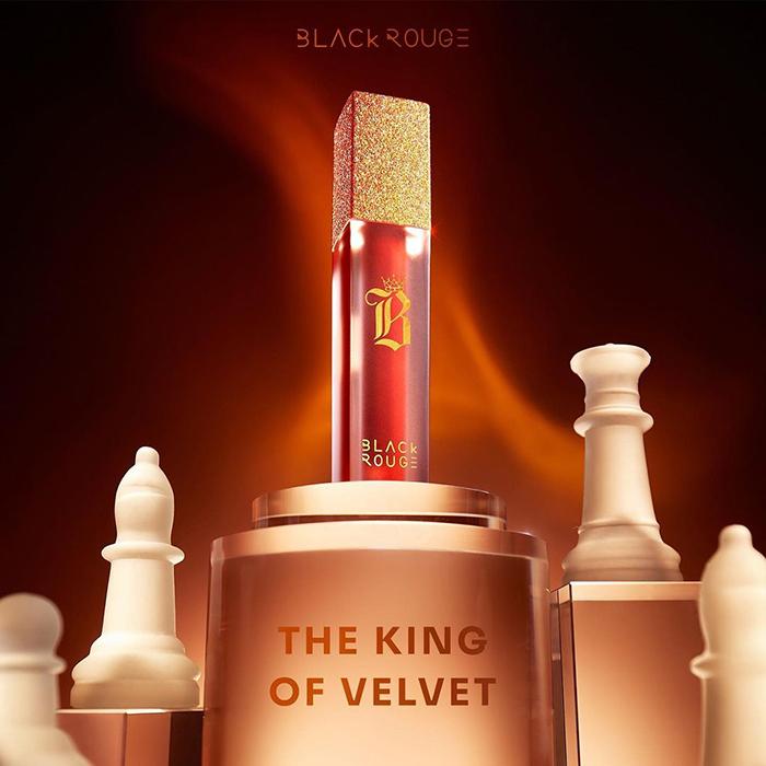 Son Kem Lì Black Rouge Air Fit Velvet Tint Ver.7 Velvet Crown