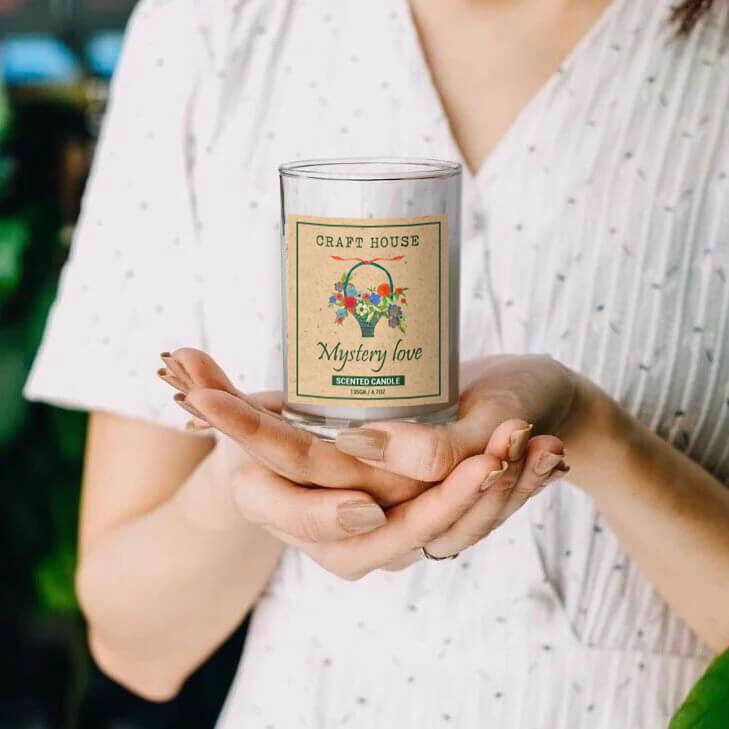 Nến Thơm Thiên Nhiên Craft House Natural Scented Candle - Mystery Love