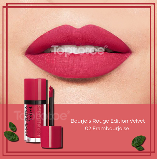Bourjois Rouge Edition Velvet 02 Frambourjoise 7.7ml
