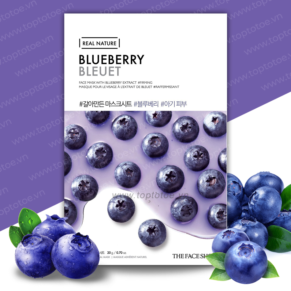 mat-na-giay-thefaceshop-real-nature-blueberry-face-mask-20g