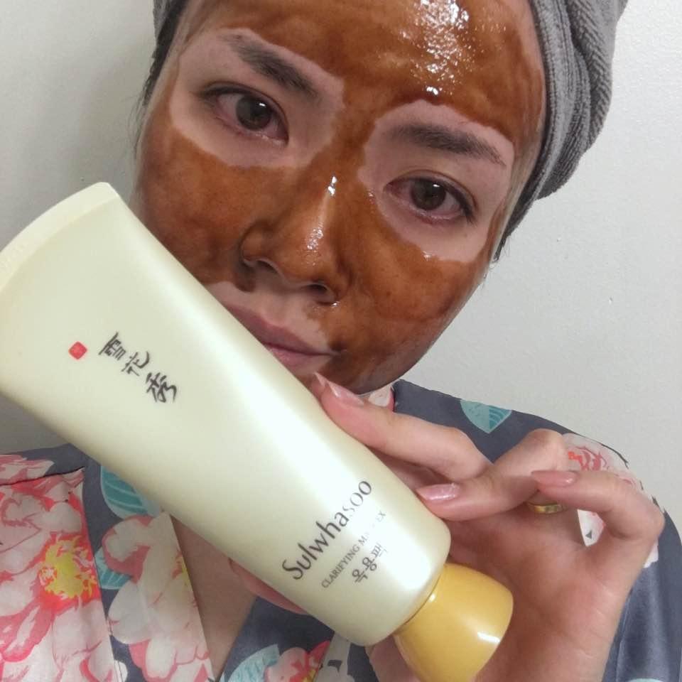 Mặt Nạ Lột Thảo Mộc Sulwhasoo Clarifying Mask Ex 30ml