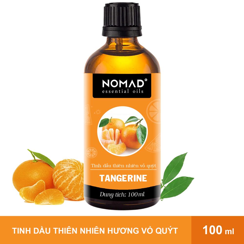 Tinh Dầu Thiên Nhiên Hương Quýt Tươi  Nomad Essential Oils Tangerine