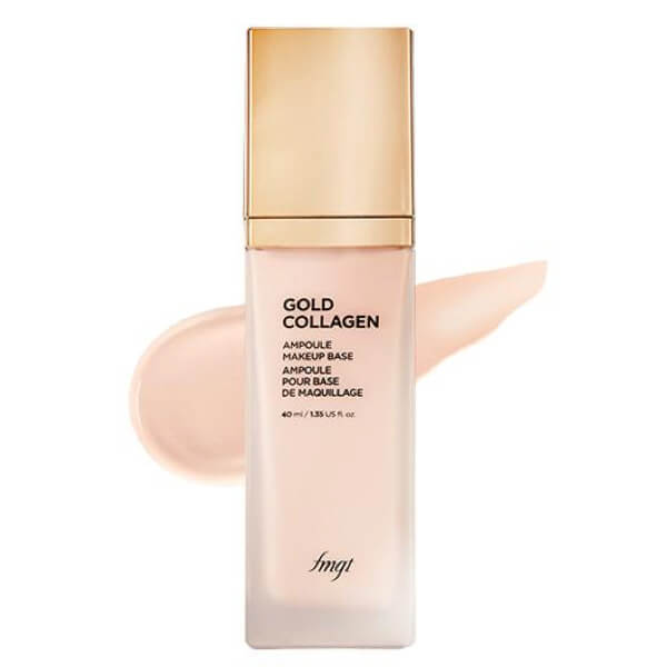 Kem Lót Bổ Sung Vàng & Collagen Thefaceshop Fmgt Gold Collagen Ampoule Makeup Base SPF30 PA++ 40ml