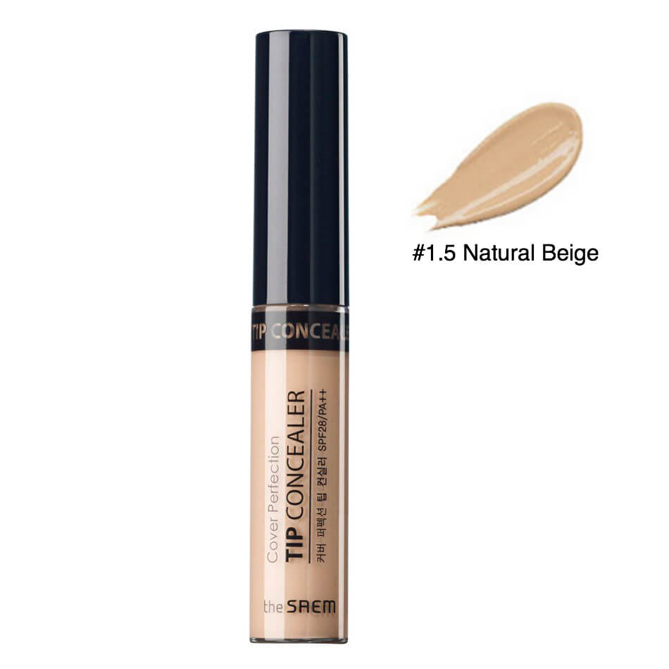 Kem Che Khuyết Điểm The Saem Cover Perfection Tip Concealer 6.5g