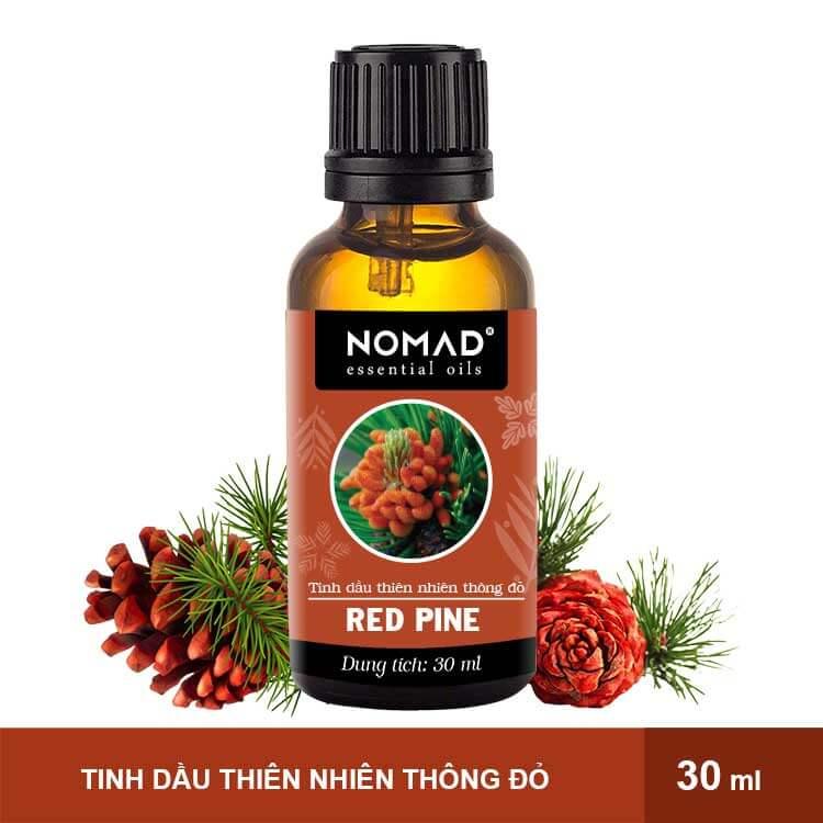 Tinh Dầu Thiên Nhiên Thông Đỏ Nomad Essential Oils Red Pine