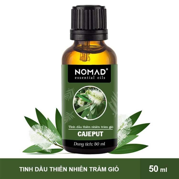 Tinh Dầu Thiên Nhiên Tràm Gió Nomad Essential Oils Cajeput