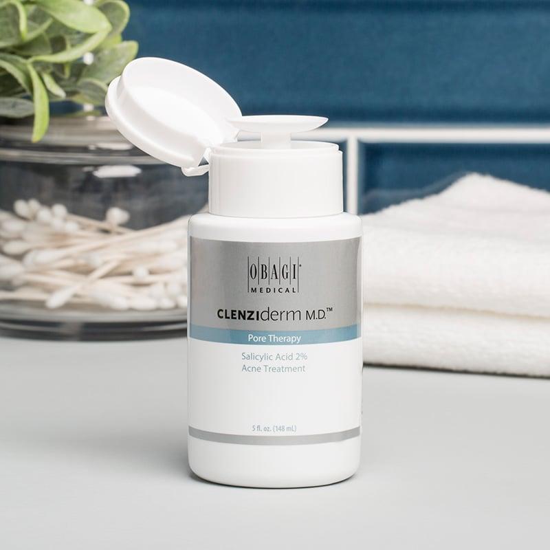 Lotion Làm Sạch Sâu Trị Mụn Obagi Clenziderm MD Pore Therapy 148ml