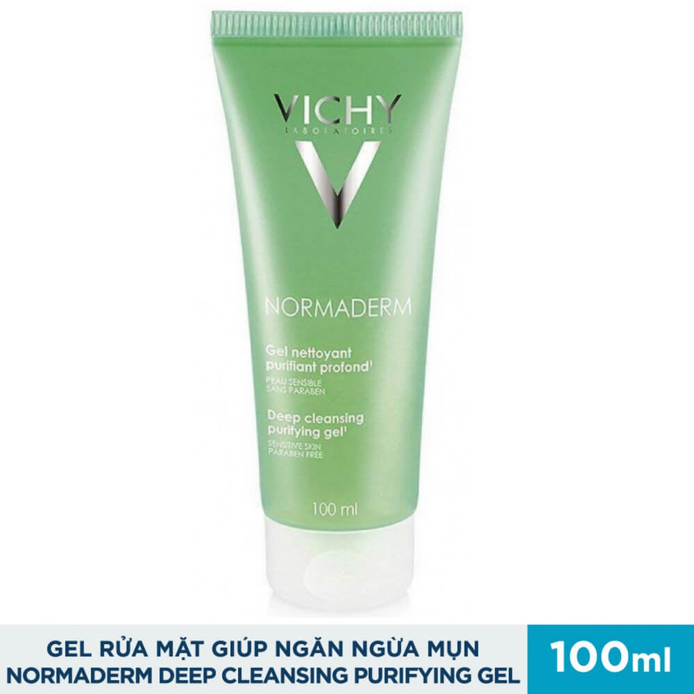 gel-rua-mat-ngan-ngua-mun-vichy-normaderm-deep-cleansing-purifying-gel-100ml
