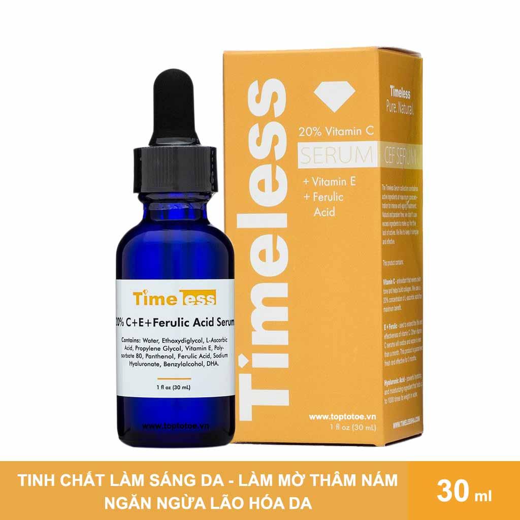 tinh-chat-duong-sang-deu-mau-da-timeless-20-vitamin-c-vitamin-e-ferulic-acid-serum-30ml
