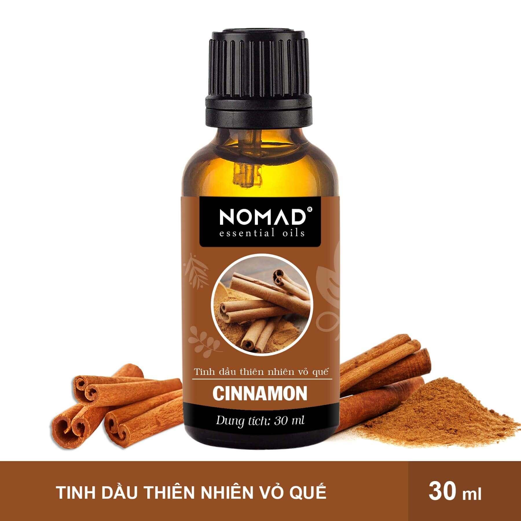 Tinh Dầu Thiên Nhiên Vỏ Quế Nomad Essential Oils Cinnamon