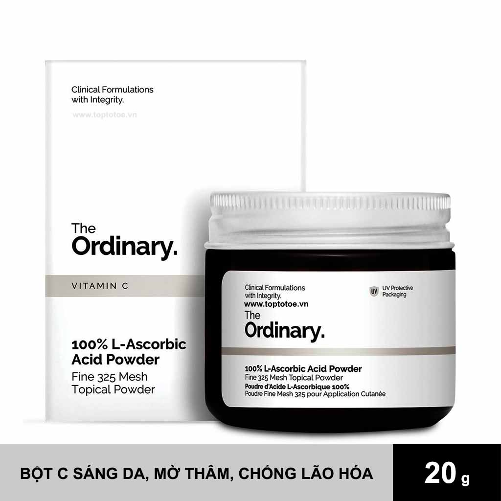 Bột Vitamin C 100% The Ordinary L-Ascorbic Acid Powder 20g