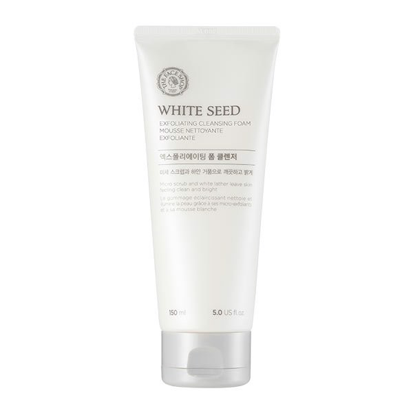 Thefaceshop White Seed Exfoliating Foam Cleanser 140ml