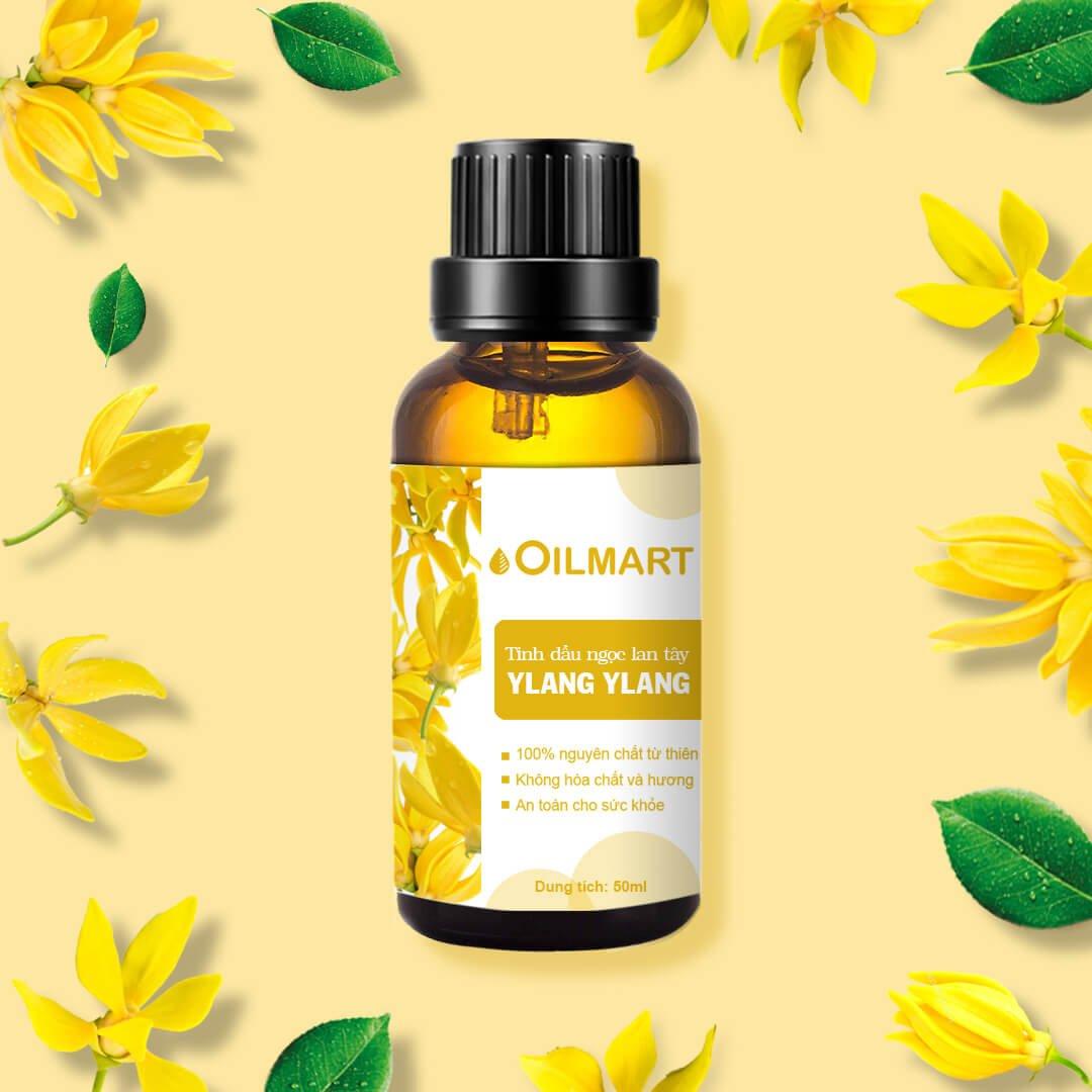 Tinh Dầu Thiên Nhiên Ngọc Lan Tây Oilmart Ylang Ylang Essential Oil