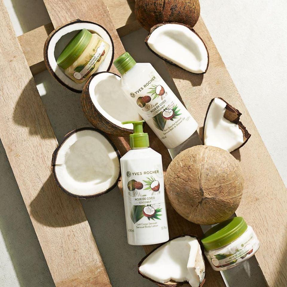 Sữa Dưỡng Thể Yves Rocher Coconut Sensual Body Lotion 390ml