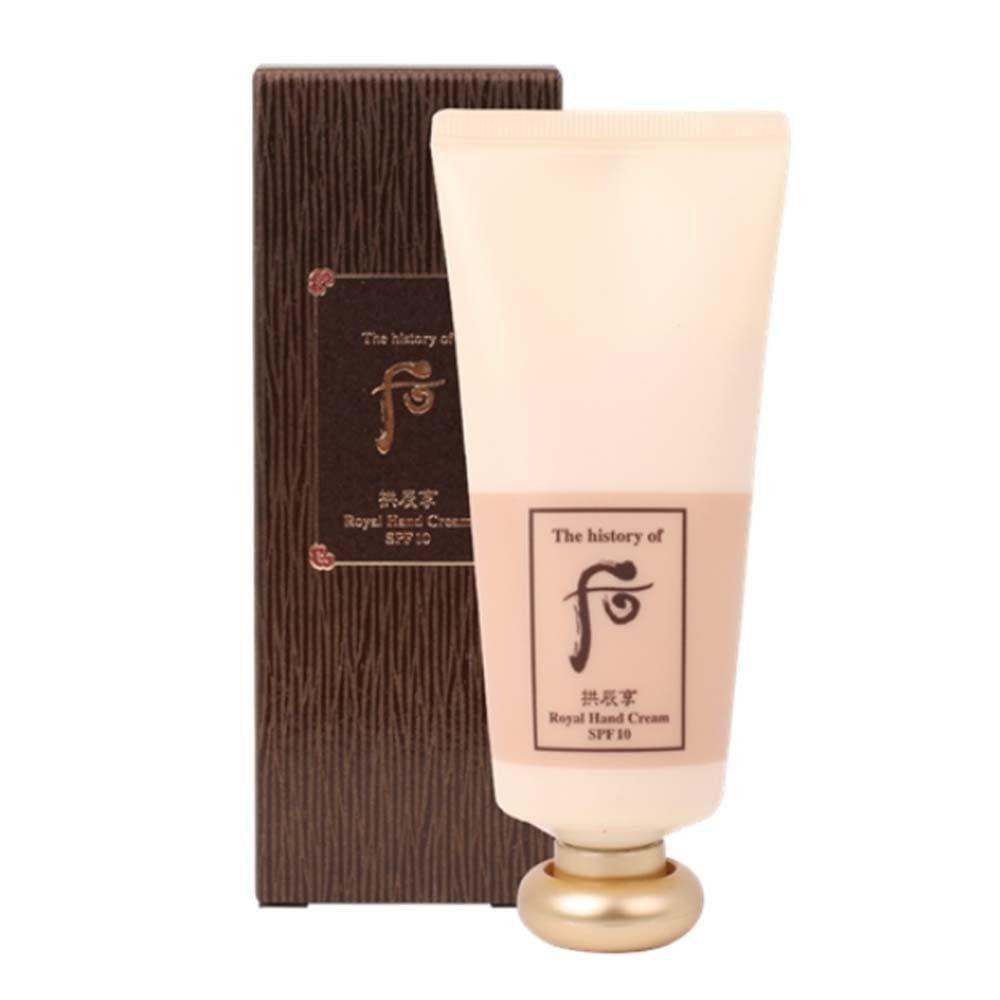 kem-duong-da-tay-chong-nhan-the-history-of-whoo-gongjinhyang-royal-hand-cream-spf10-85ml