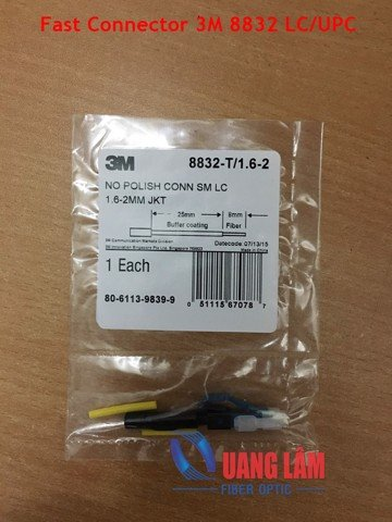 Fast connector 3M 8832 LC/UPC
