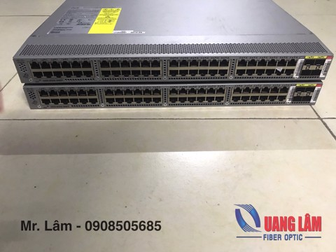 Switch Cisco Nexus N3K-C3048TP-1GE 48-Ports 10/100/1000M+ 04 Port 10G SFP+